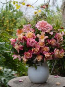 Heritage Roses background