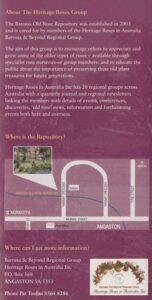 Barossa Old-Rose Repository p 5