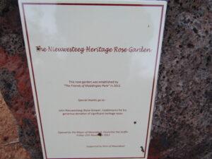 Nieuwesteeg Heritage Rose Garden, Maddingley Park, Bacchus Marsh, VIC